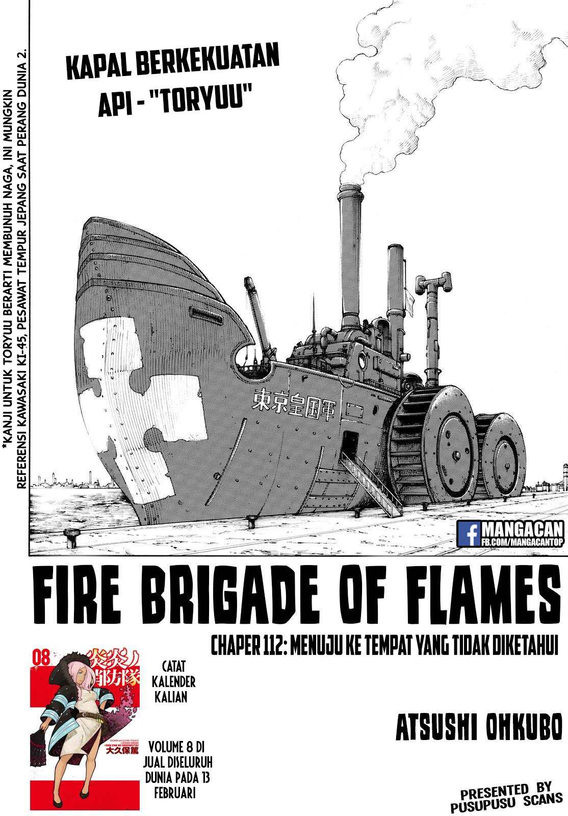 Fire Brigade of Flames Chapter 112