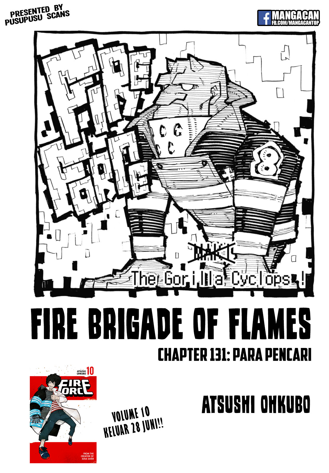 Fire Brigade of Flames Chapter 131