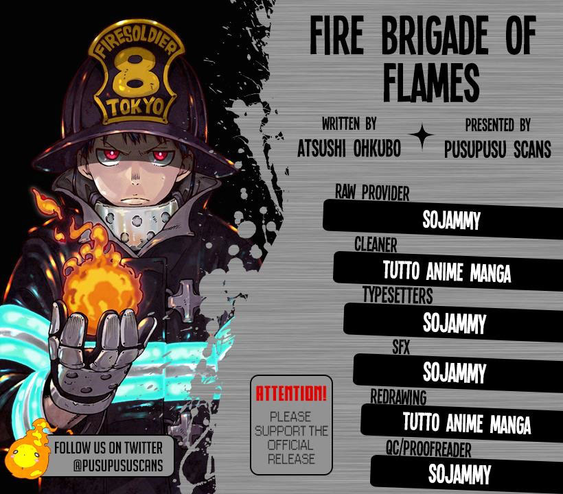 Fire Brigade of Flames Chapter 132