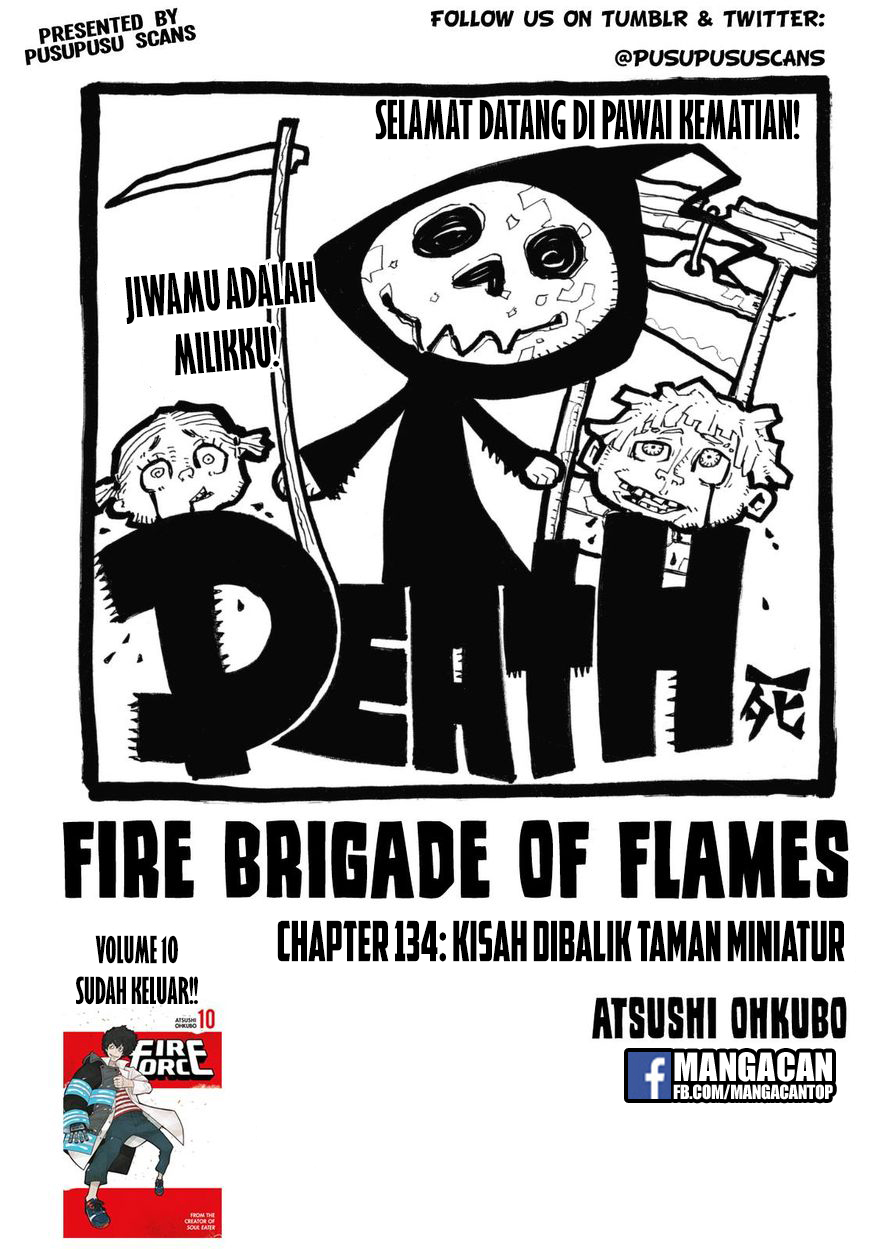 Fire Brigade of Flames Chapter 134