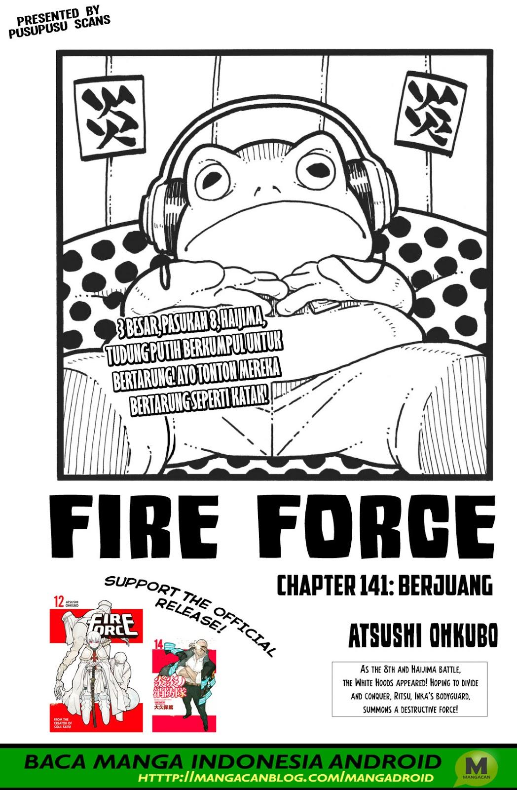 Fire Brigade of Flames Chapter 141