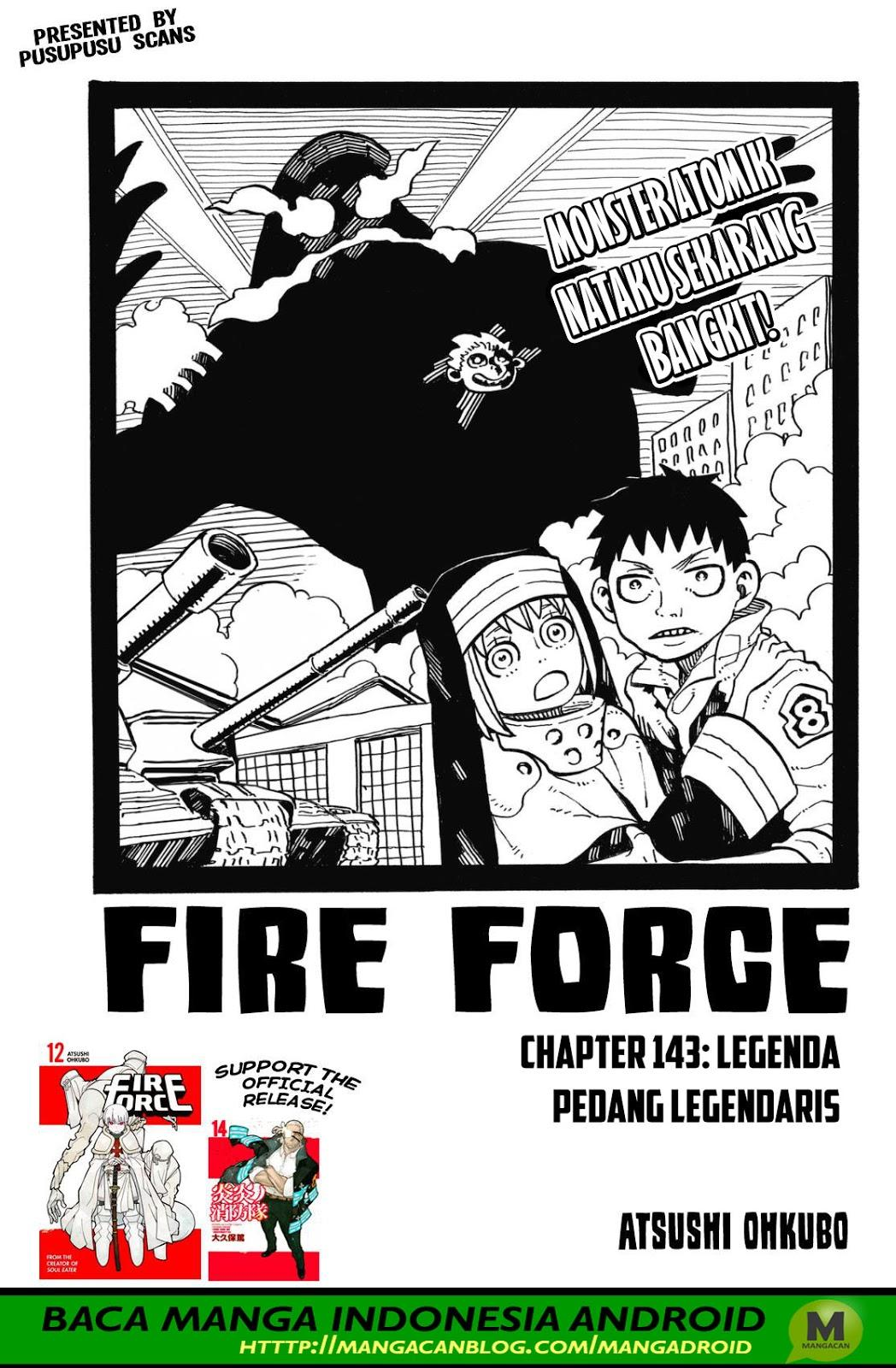 Fire Brigade of Flames Chapter 143