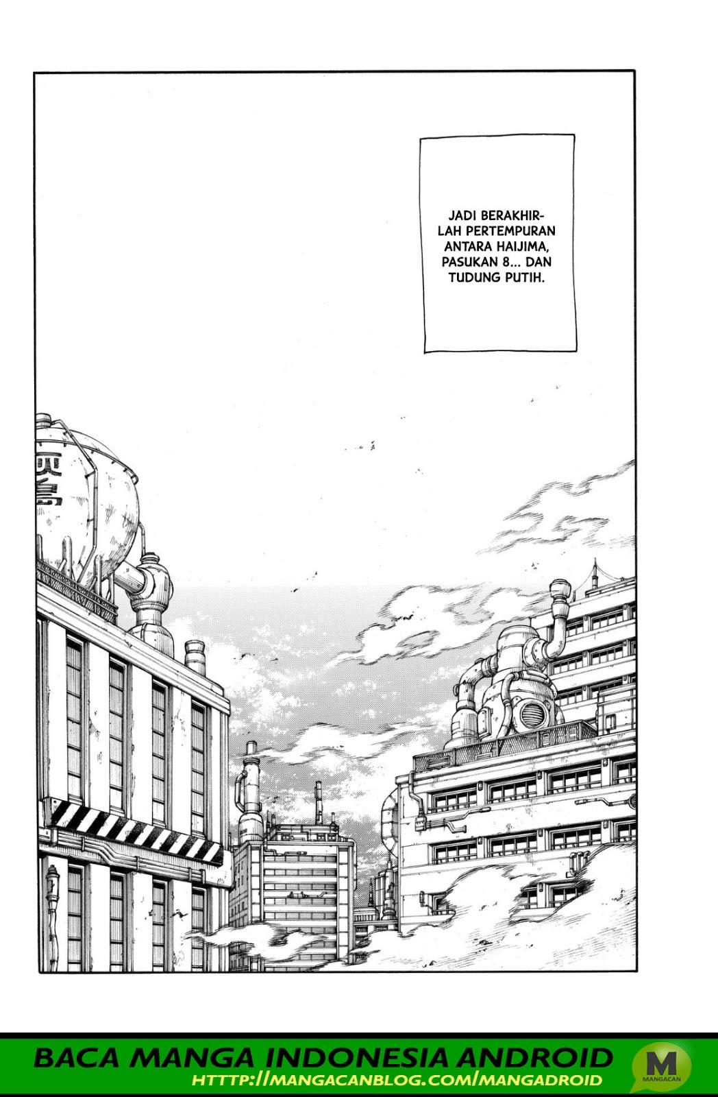 Fire Brigade of Flames Chapter 146
