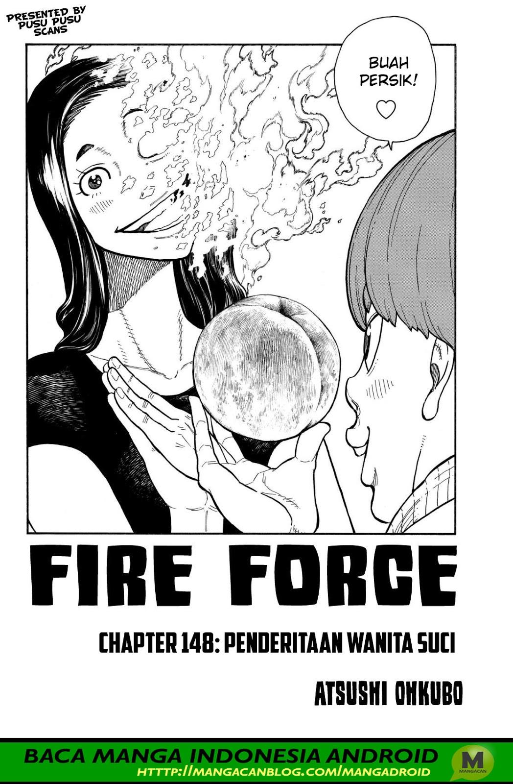 Fire Brigade of Flames Chapter 148
