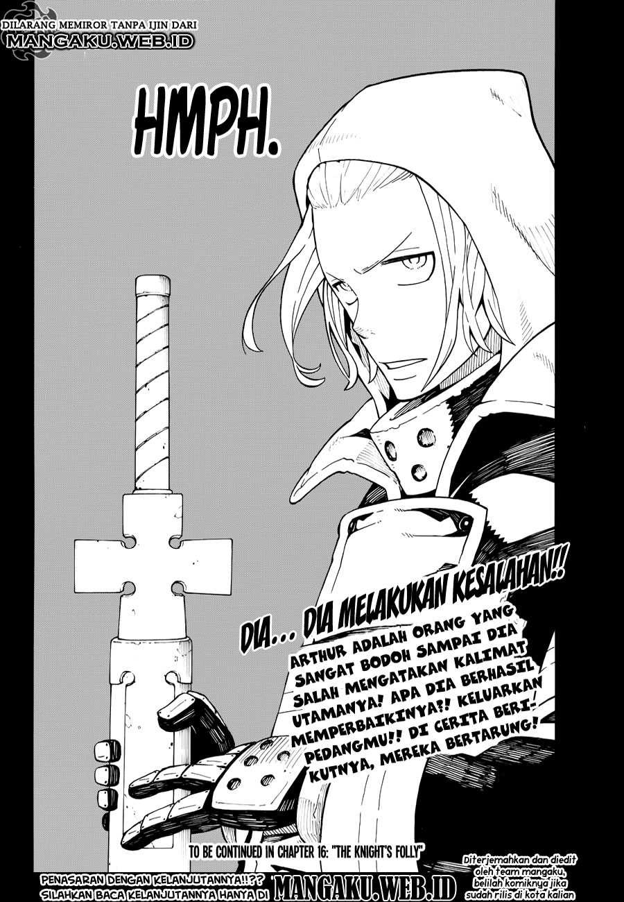 Fire Brigade of Flames Chapter 15