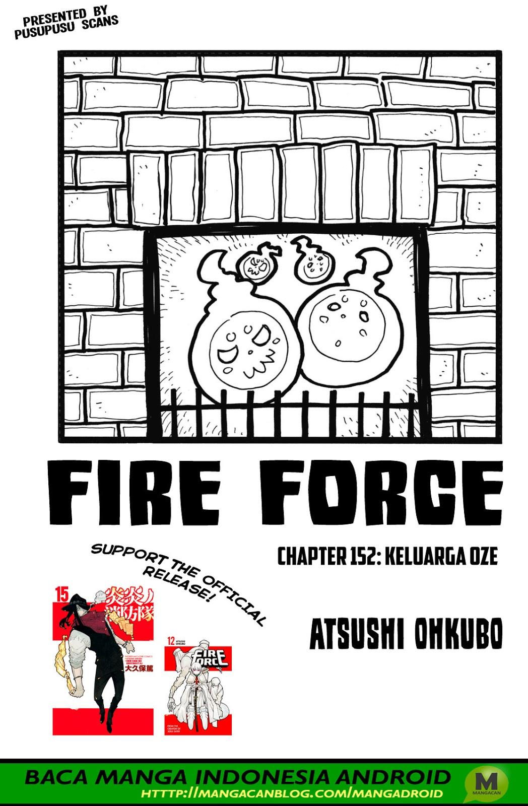 Fire Brigade of Flames Chapter 152