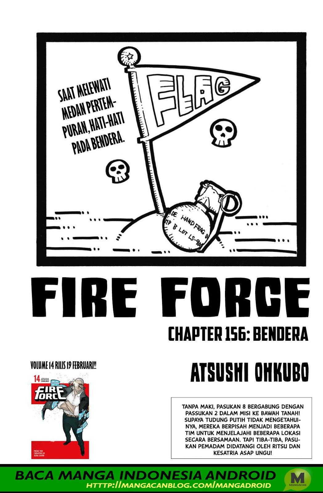 Fire Brigade of Flames Chapter 156