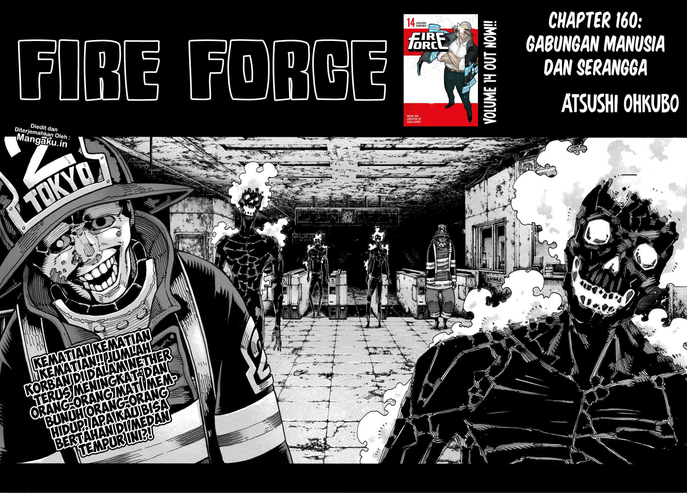 Fire Brigade of Flames Chapter 160