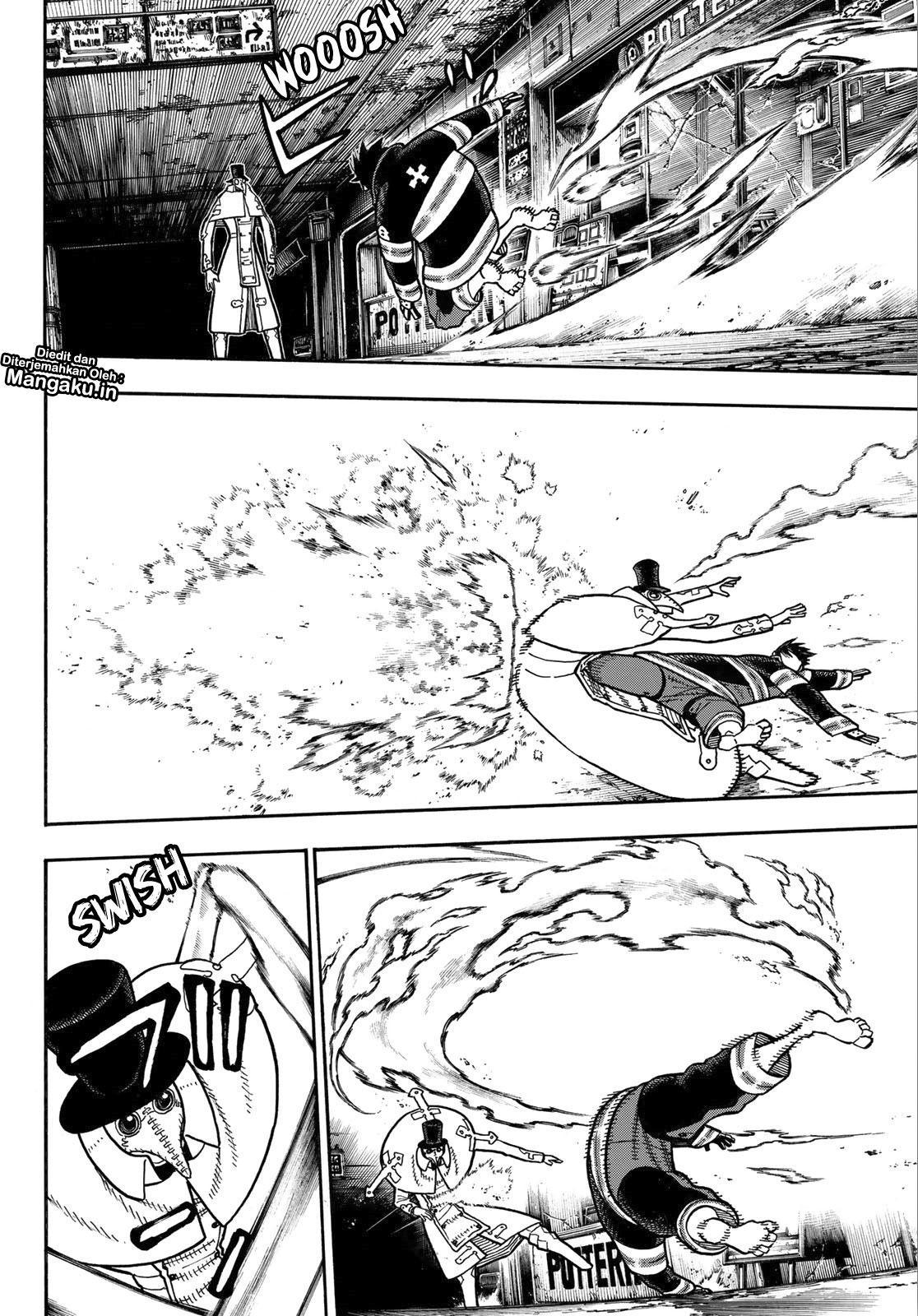 Fire Brigade of Flames Chapter 163