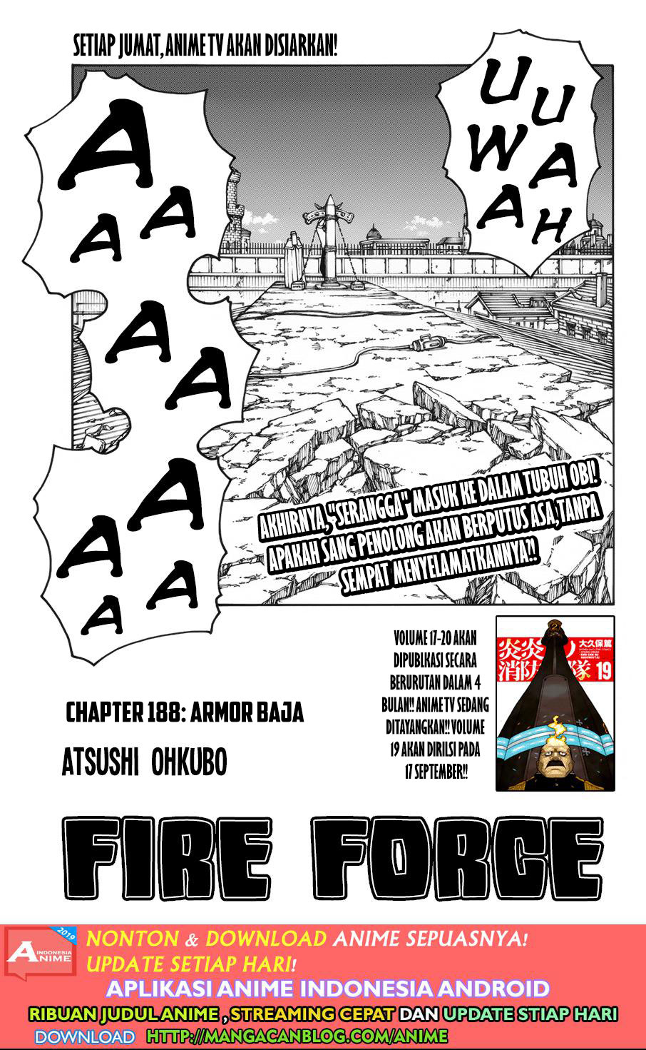 Fire Brigade of Flames Chapter 188