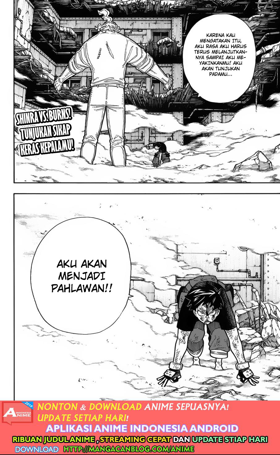 Fire Brigade of Flames Chapter 193