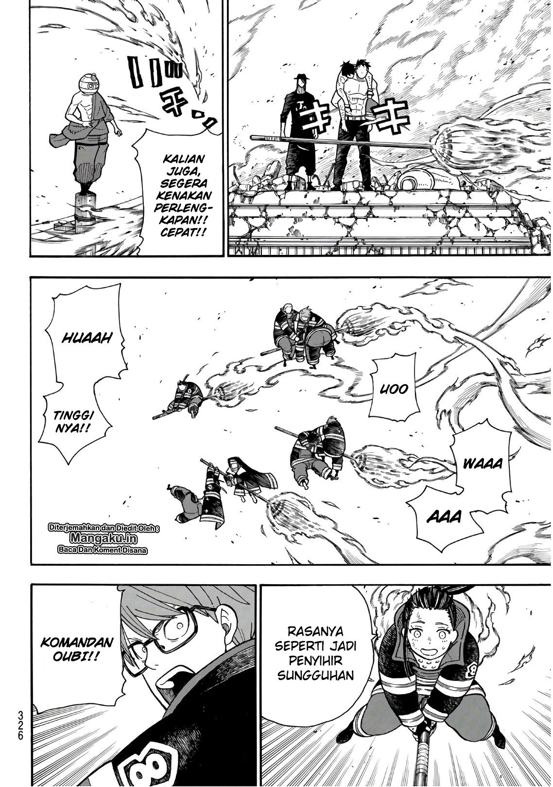 Fire Brigade of Flames Chapter 196