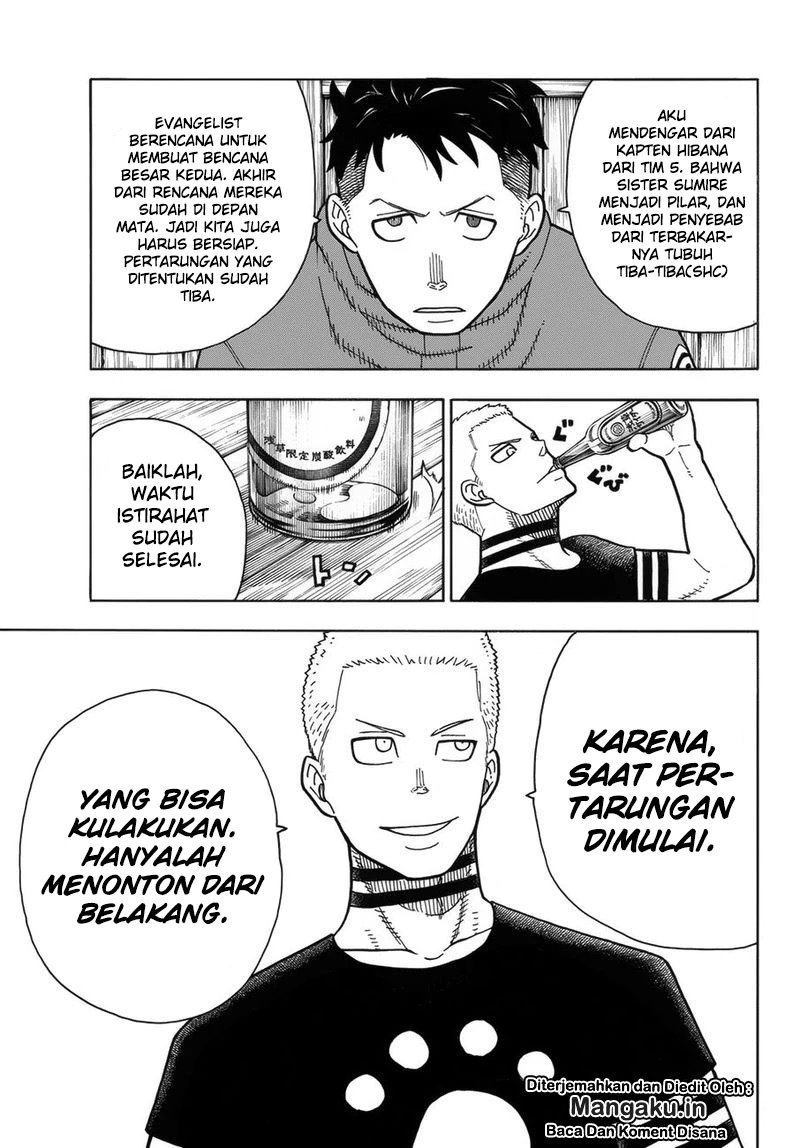 Fire Brigade of Flames Chapter 205
