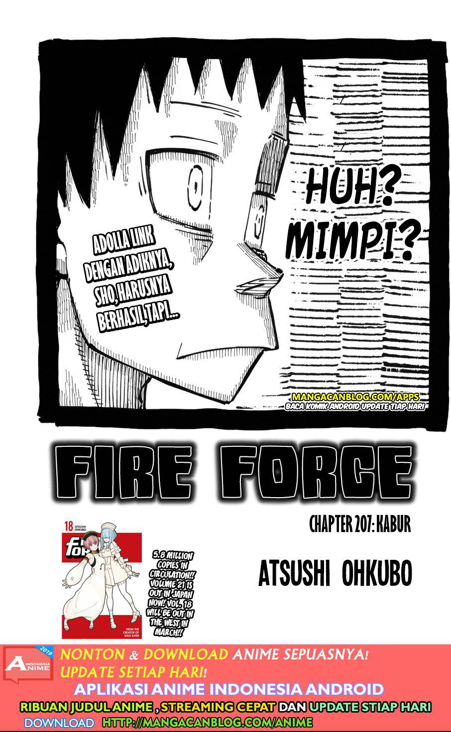 Fire Brigade of Flames Chapter 207