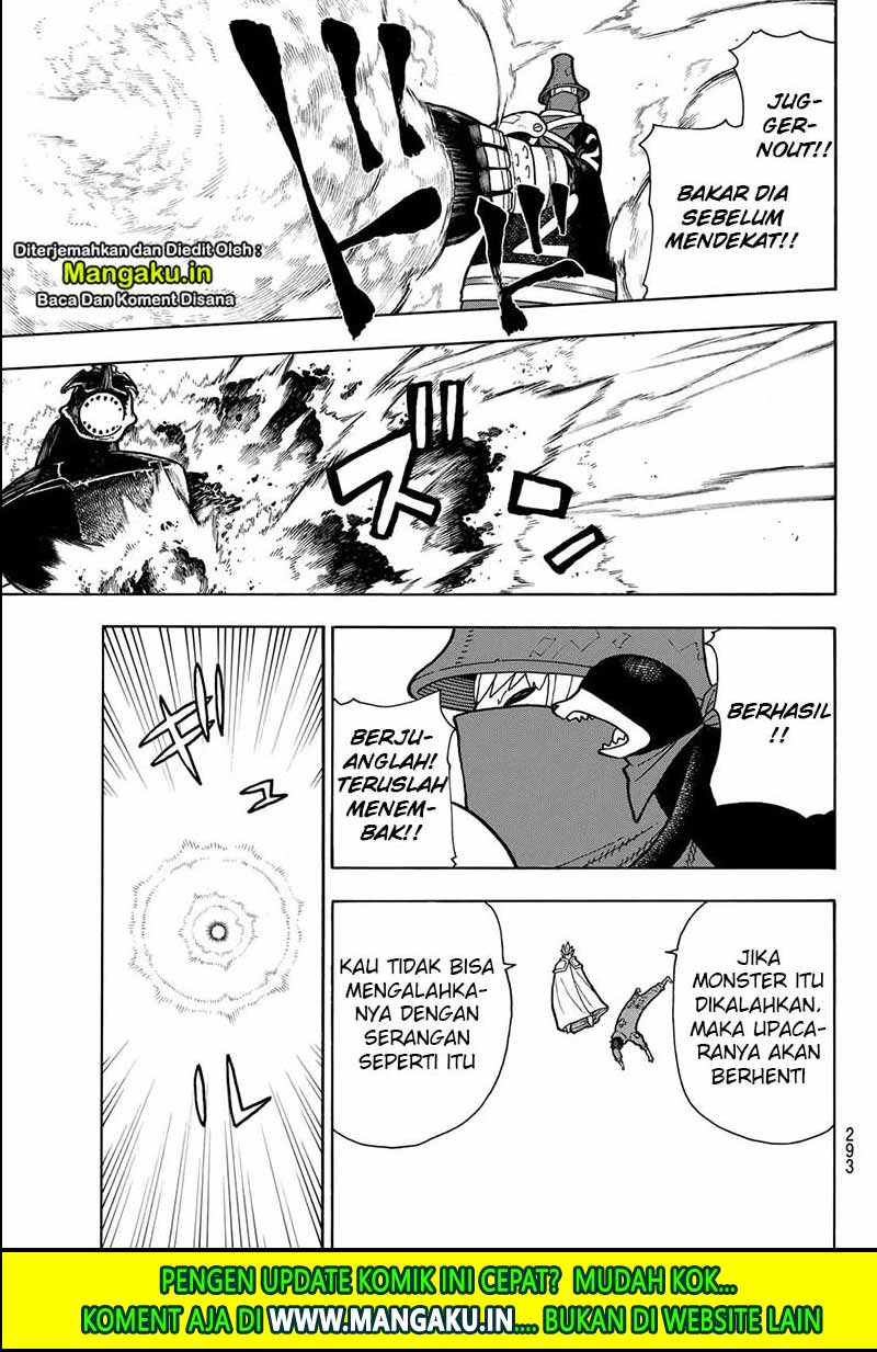 Fire Brigade of Flames Chapter 213