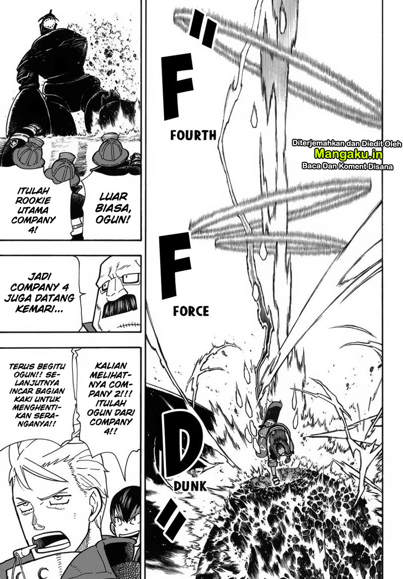Fire Brigade of Flames Chapter 214