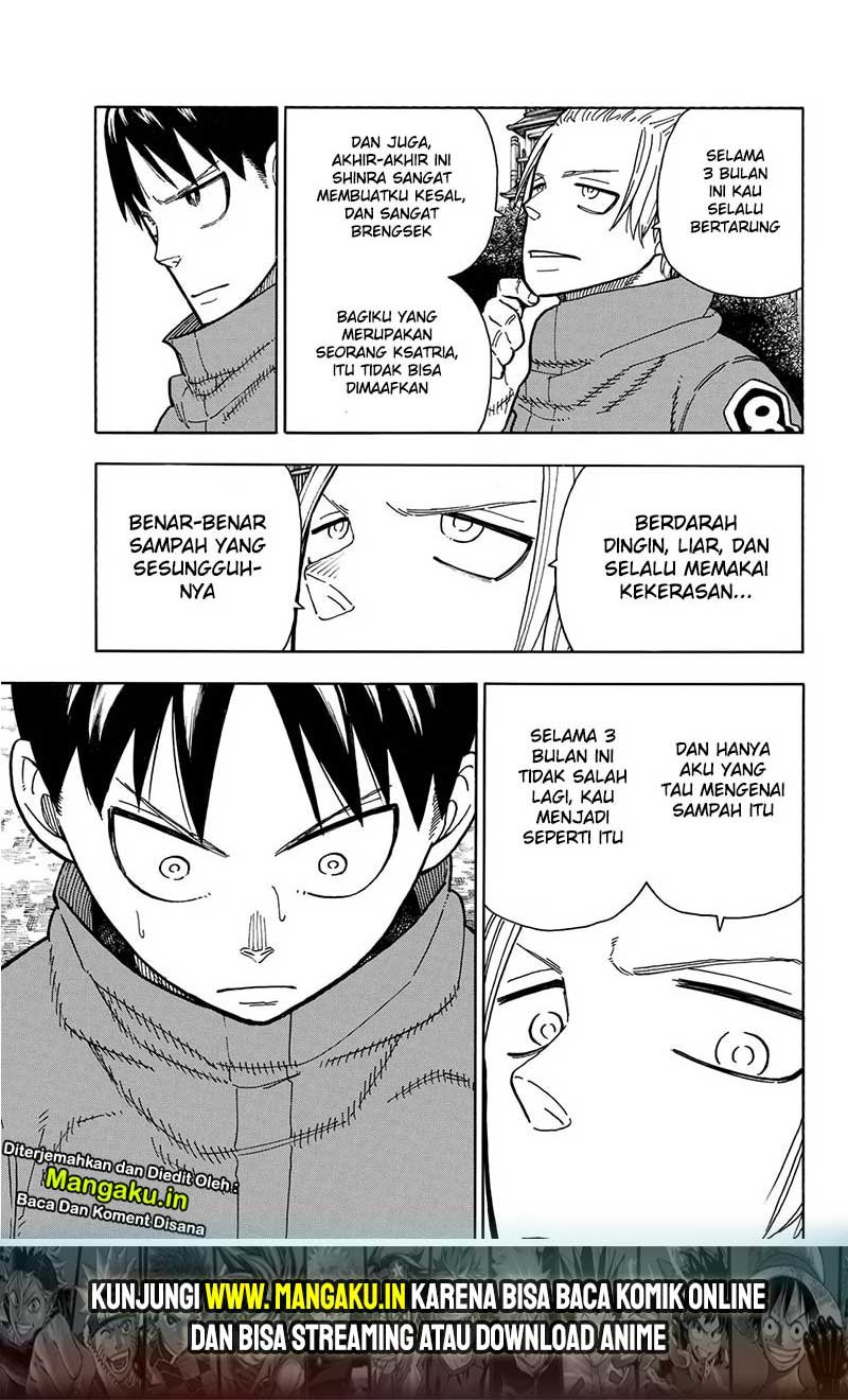 Fire Brigade of Flames Chapter 218