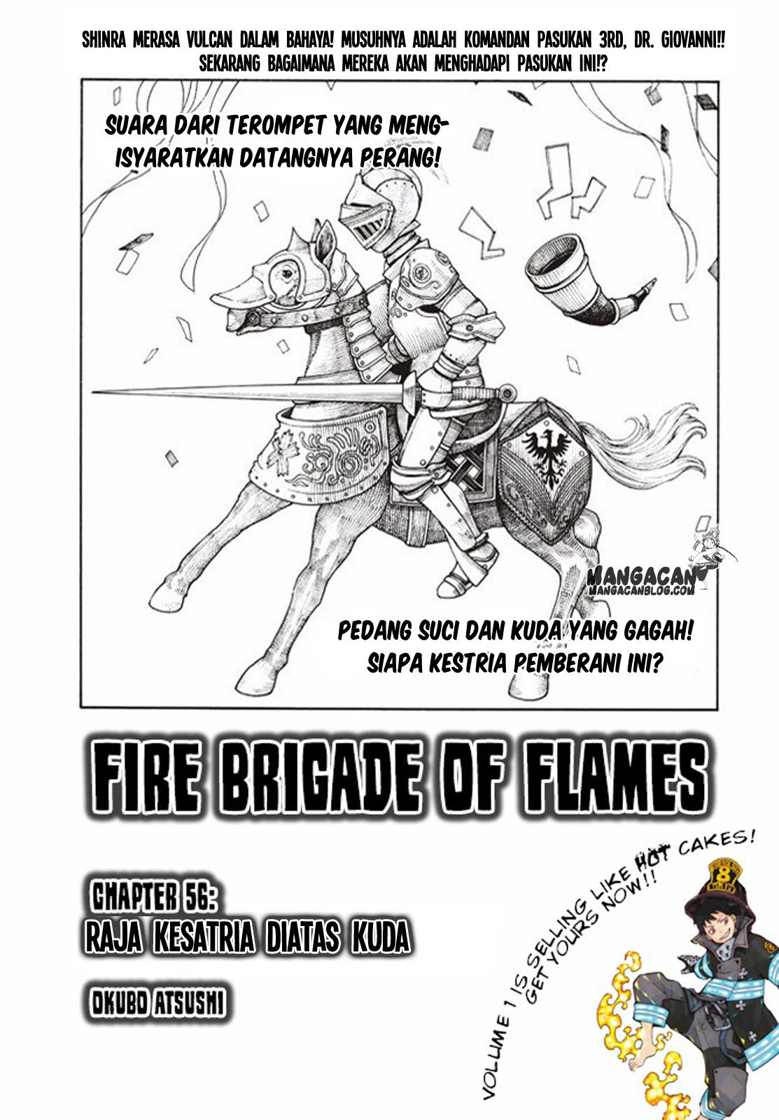 Fire Brigade of Flames Chapter 56