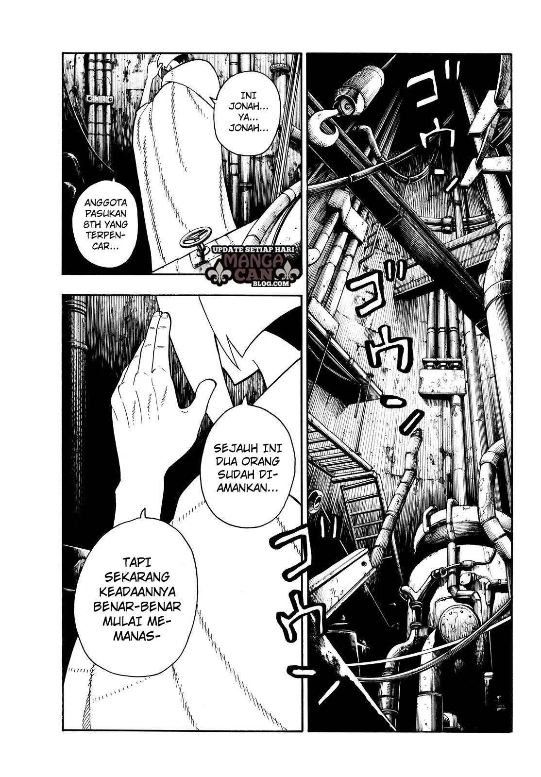 Fire Brigade of Flames Chapter 79
