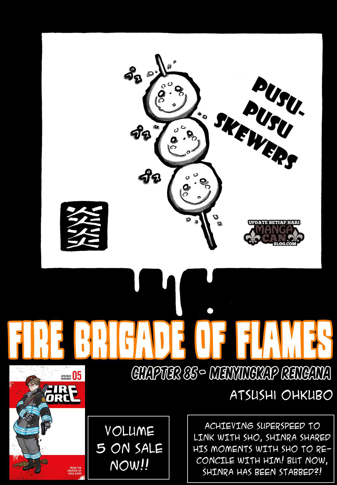 Fire Brigade of Flames Chapter 85