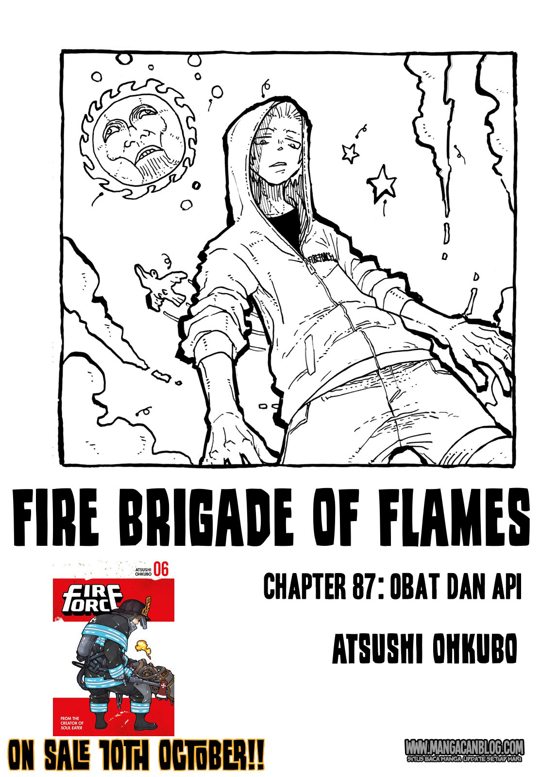 Fire Brigade of Flames Chapter 87
