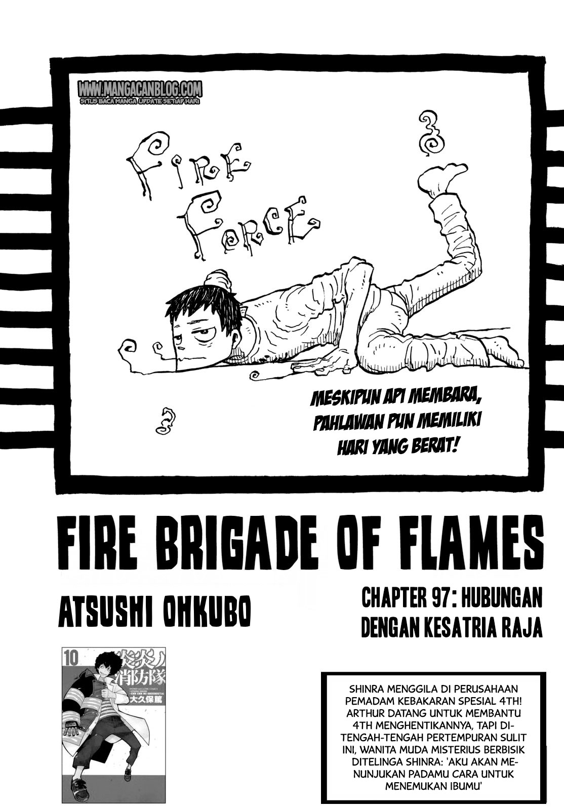 Fire Brigade of Flames Chapter 97