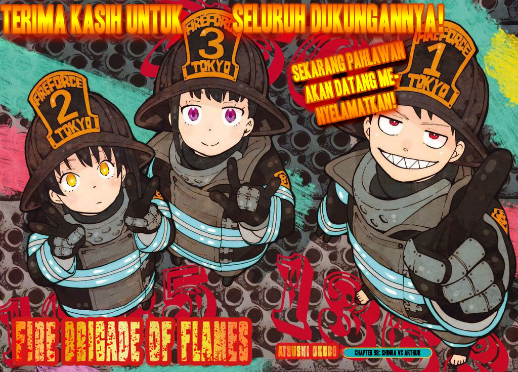 Fire Brigade of Flames Chapter 98