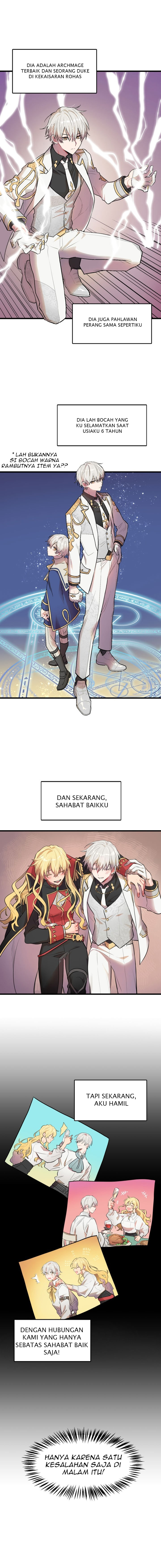 Spoiler Manhwa The Baby Isn't Yours 3