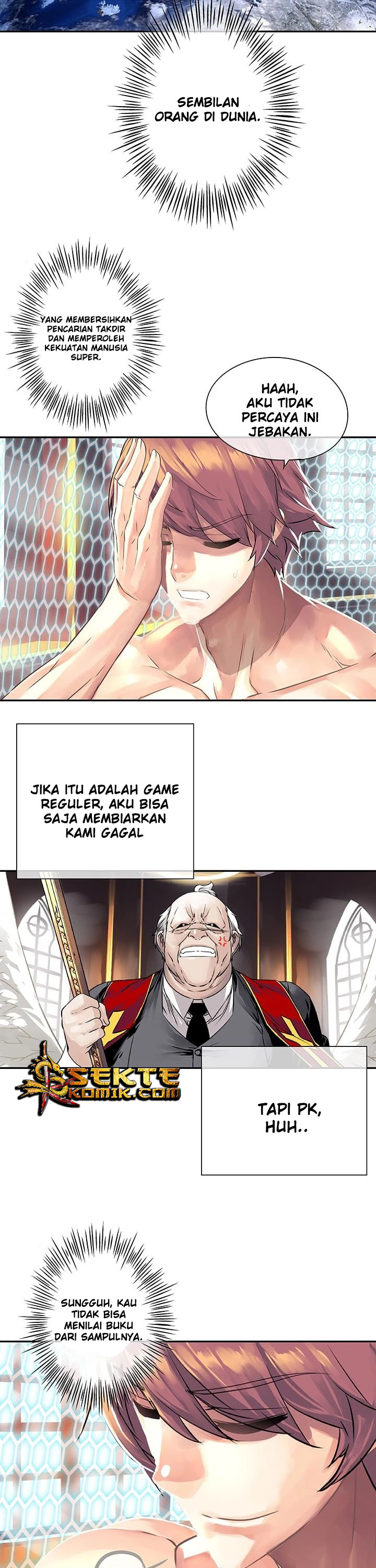 """The God of """"Game of God"""" Chapter 14"""