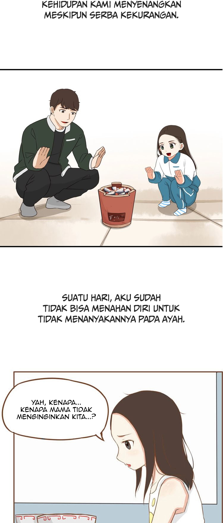 Spoiler Manhua Poor Father and Daughter 3