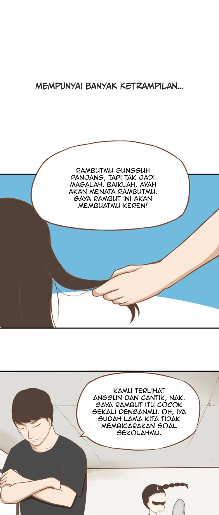 Spoiler Manhua Poor Father and Daughter 1