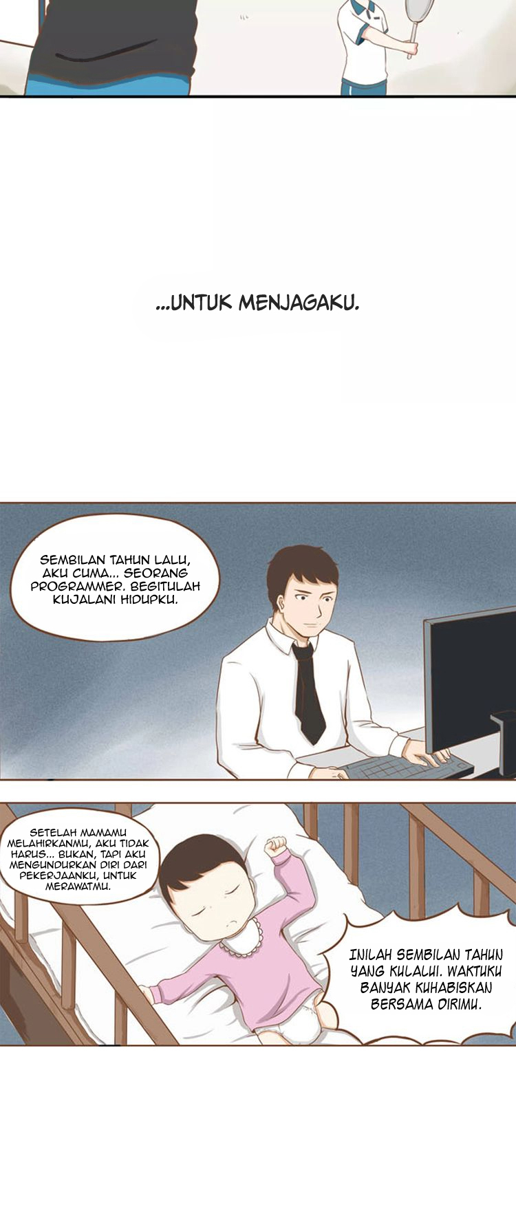 Spoiler Manhua Poor Father and Daughter 2