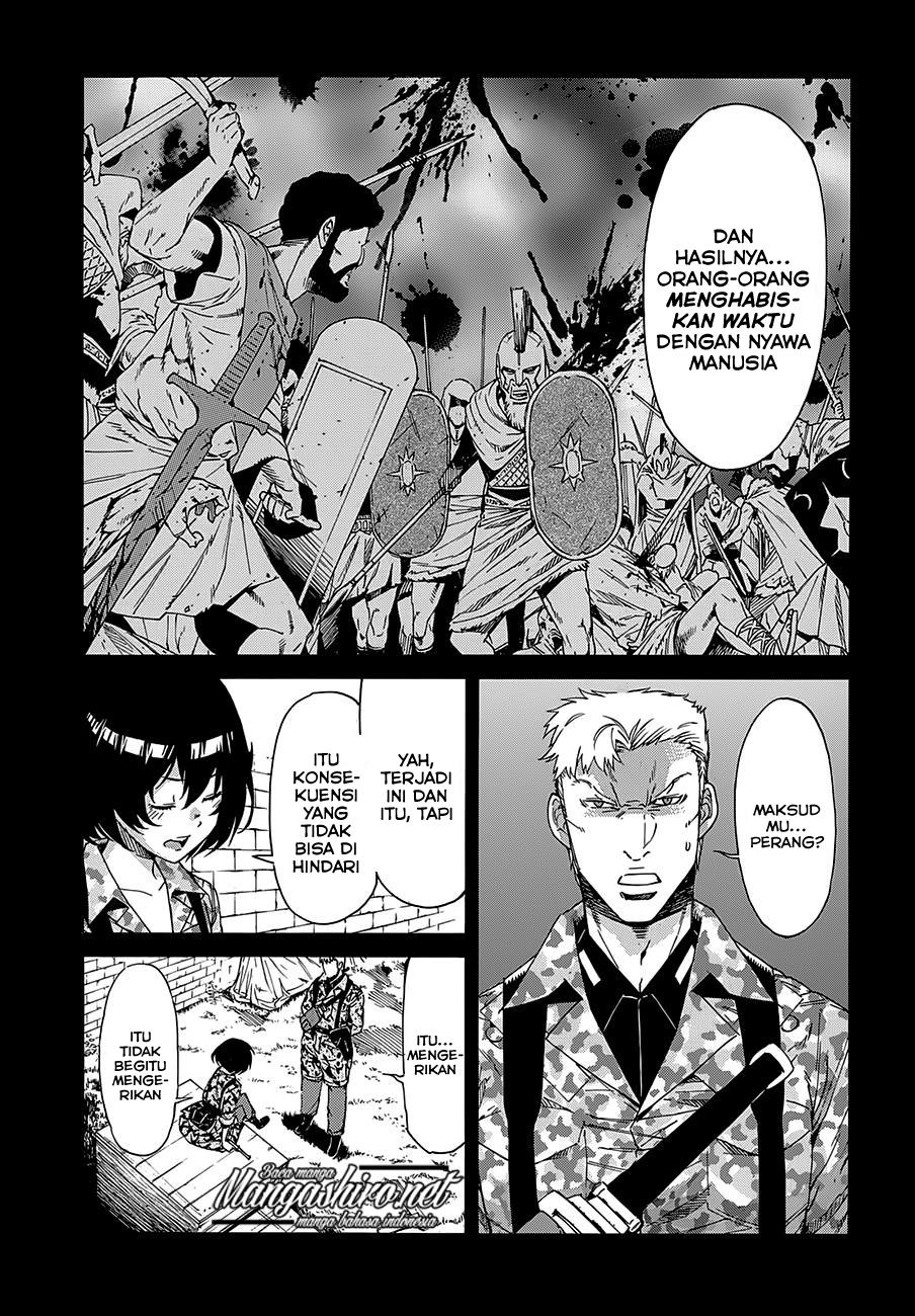 Gun x Clover Chapter 54