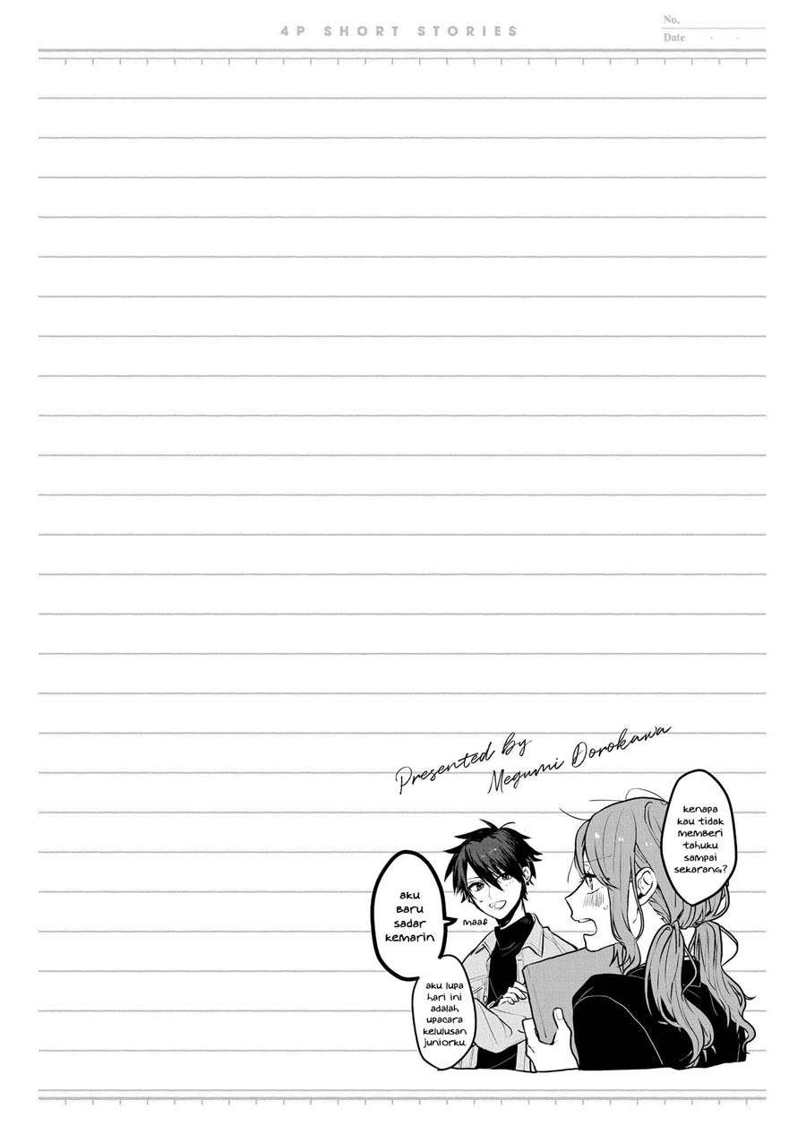 """Spoiler Manga """"It's too precious and hard to read !!"""" 4P Short Stories 4"""