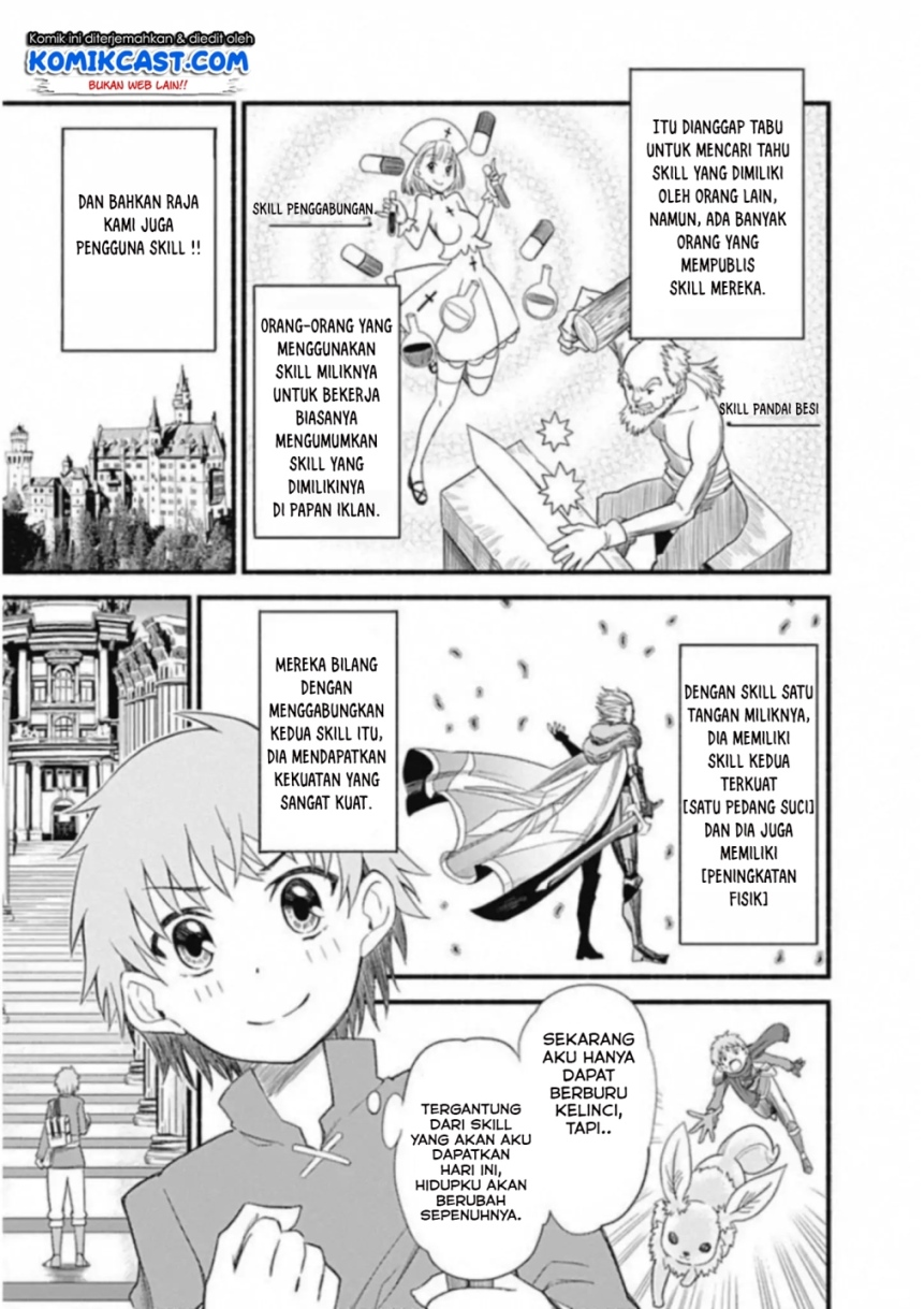 Spoiler Manga Living In This World With Cut & Paste 4