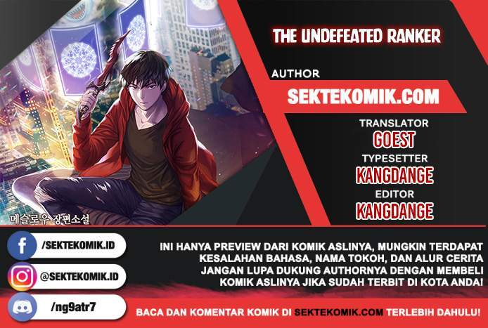 The Undefeated Ranker Chapter 5