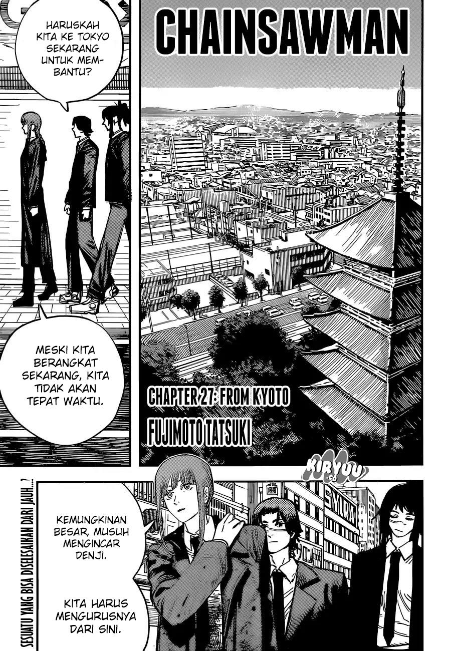 Chainsaw Man Chapter 27