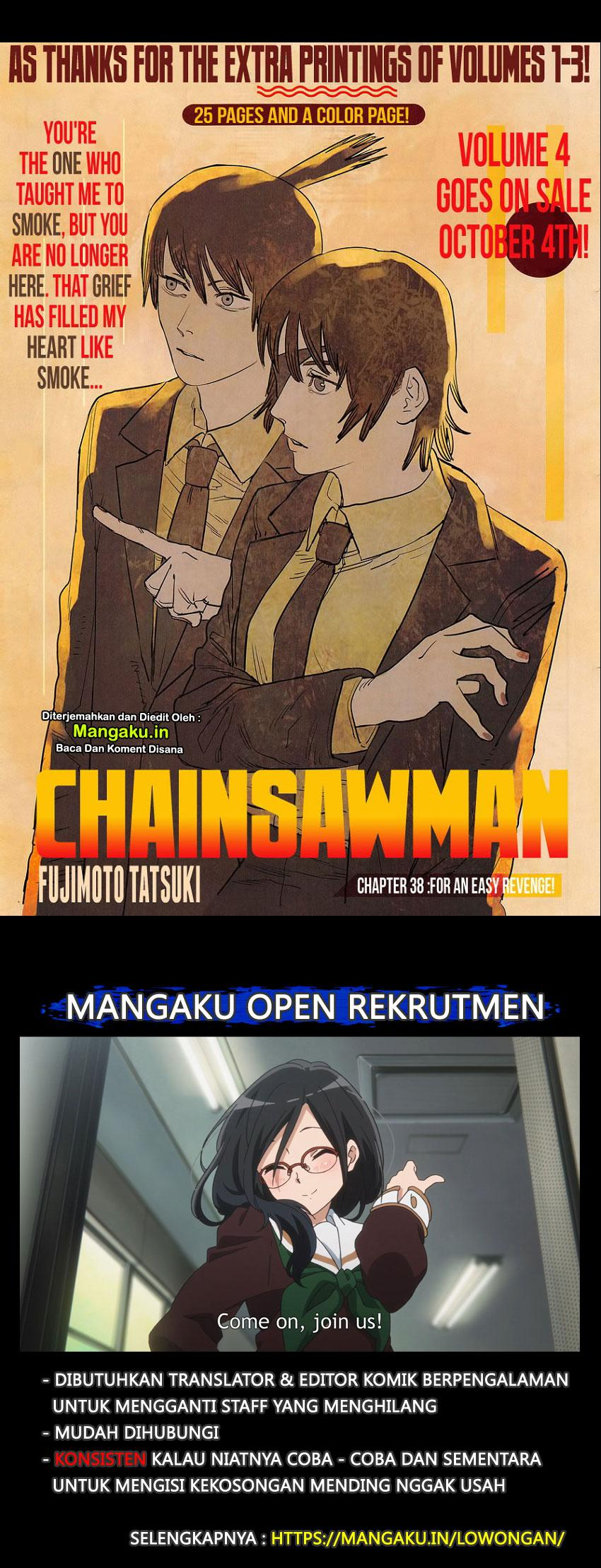 Chainsaw Man Chapter 38
