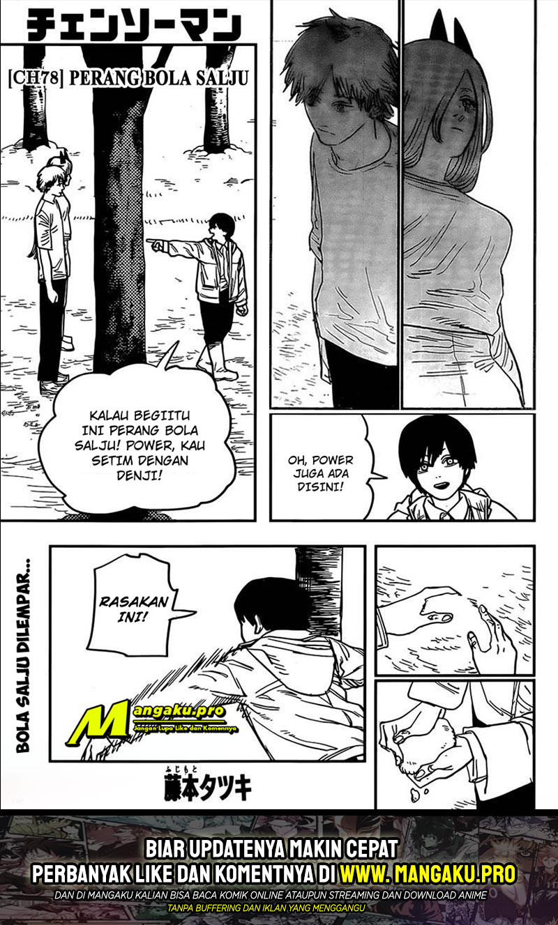 Chainsaw Man Chapter 78