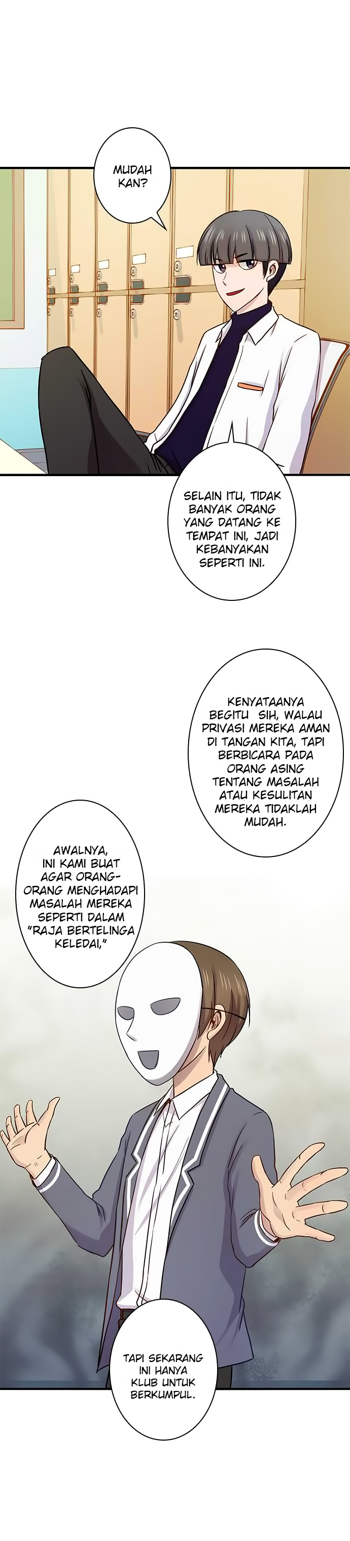 I Want to Be Normal Chapter 34