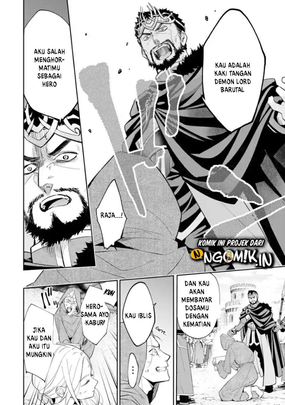 Spoiler Manga The Executed Sage is Reincarnated as a Lich and Starts an All-Out War 4