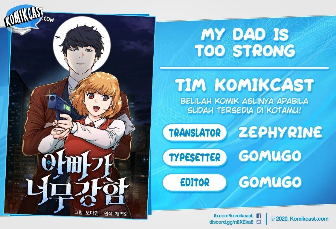 My Dad Is Too Strong Chapter 1