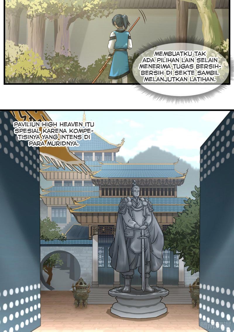 Spoiler Manhua Martial Peak 1
