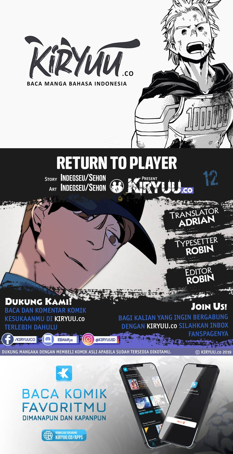 Return to Player Chapter 12