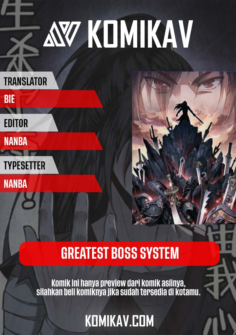 Greatest Boss System Chapter 12