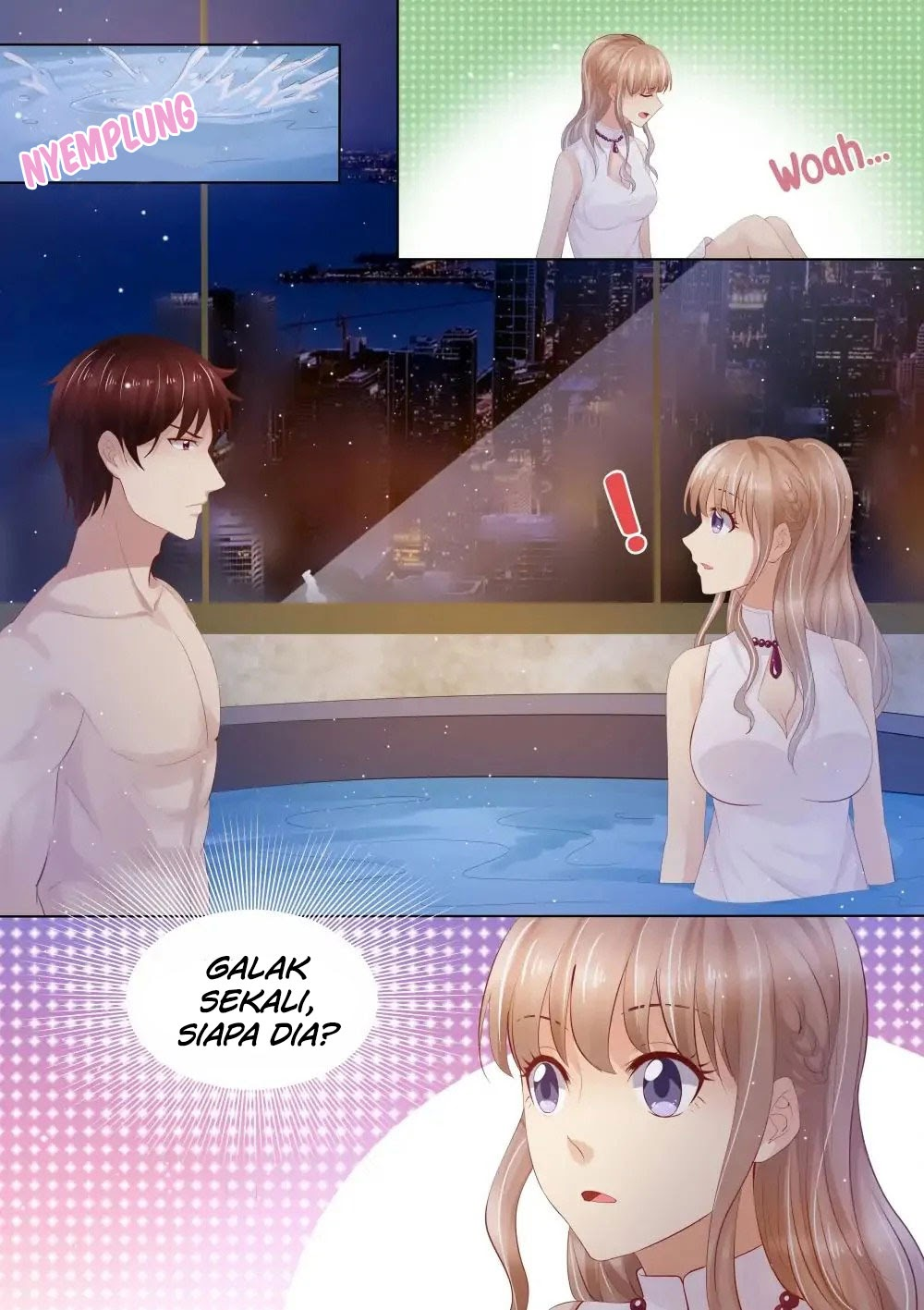 Spoiler Manhua Trapped with the CEO 1