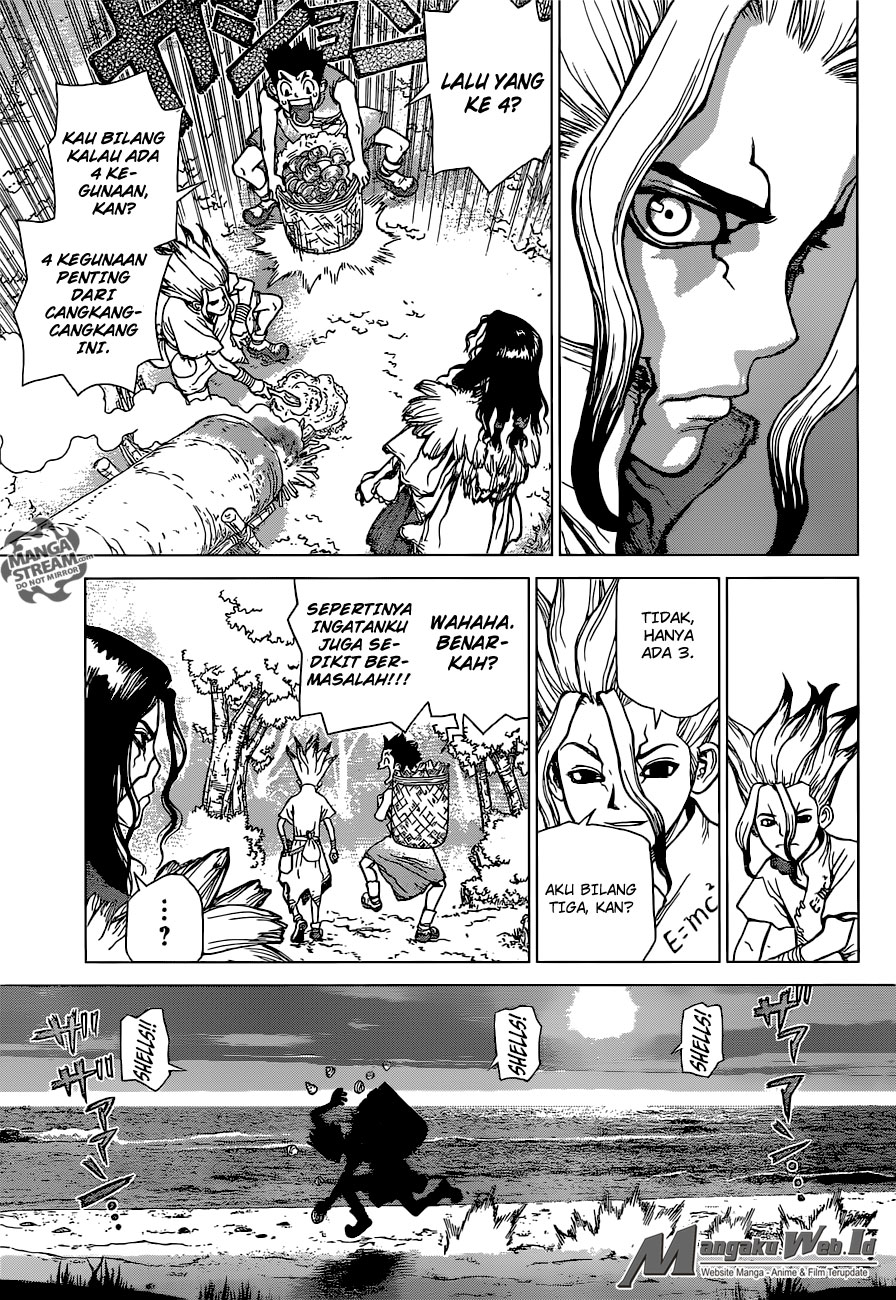 Dr. Stone Chapter 04