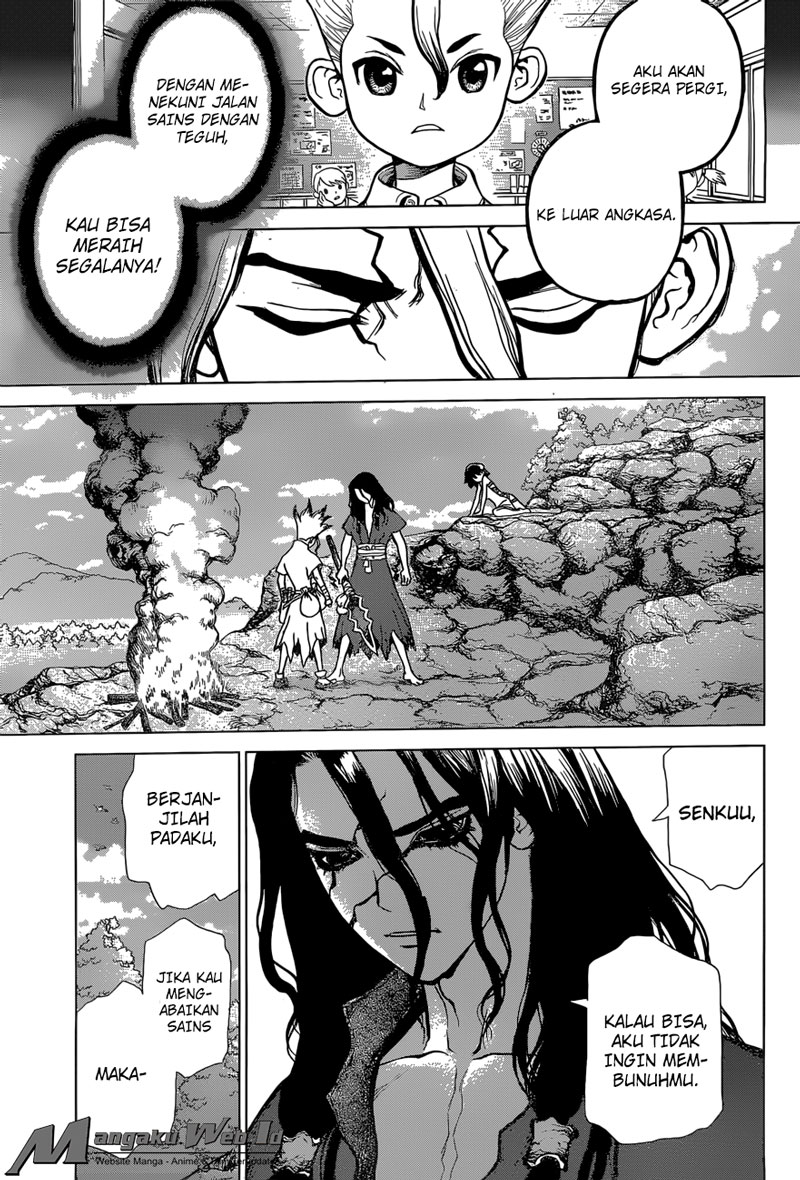 Dr. Stone Chapter 10