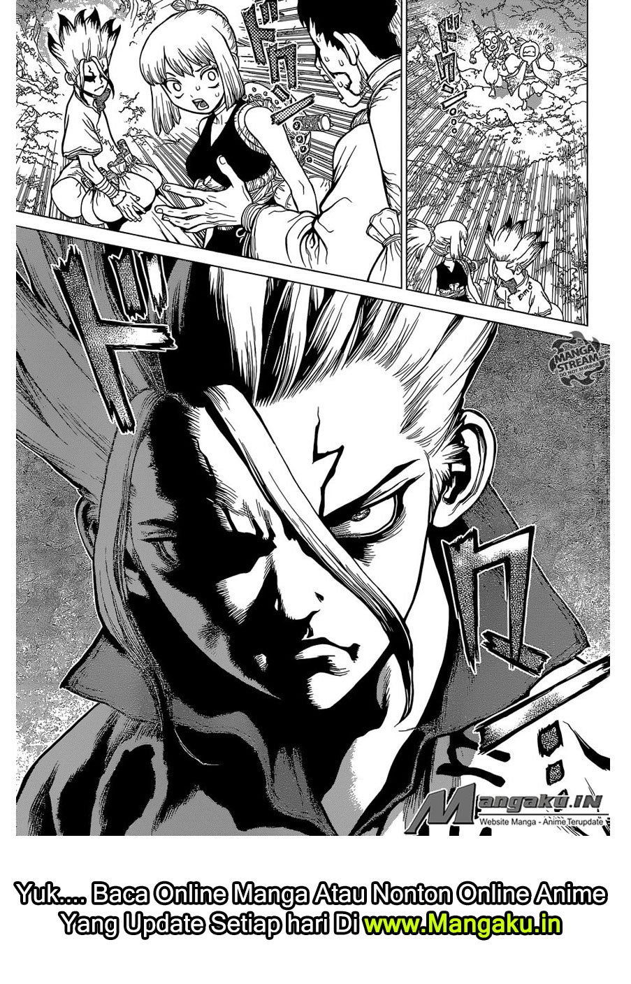 Dr. Stone Chapter 104