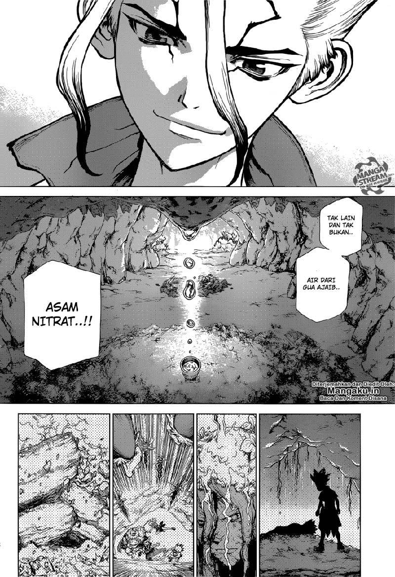 Dr. Stone Chapter 116